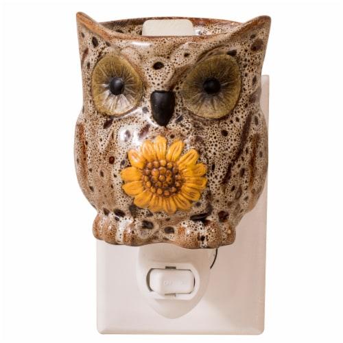 Oak & Rye Spotted Owl Mini Wax Warmer Perspective: right