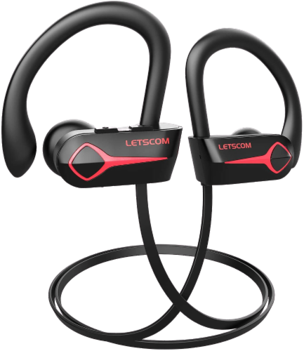 Letsfit U8L Bluetooth Headphones - Black Perspective: right