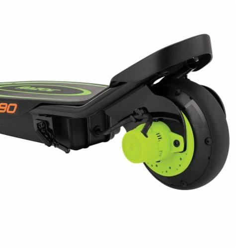 Razor® Green Power Core E90 Electric Scooter Perspective: right