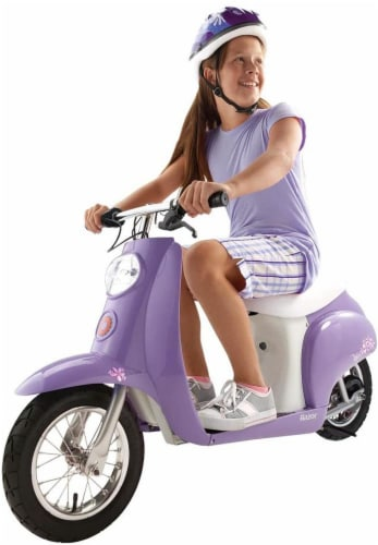 Razor® Purple Betty Pocket Mod Electric Scooter Perspective: right