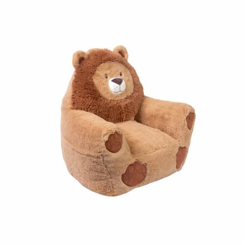 Cuddo Buddies Lion Plush Chair Perspective: right