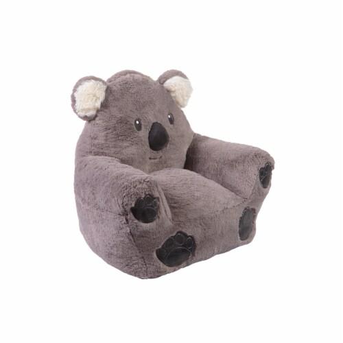 Cuddo Buddies Gray Koala Plush Chair Perspective: right
