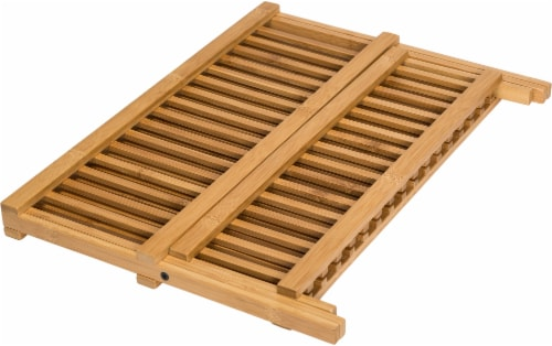 Honey Can Do Bamboo Drying Rack - Natural Perspective: right