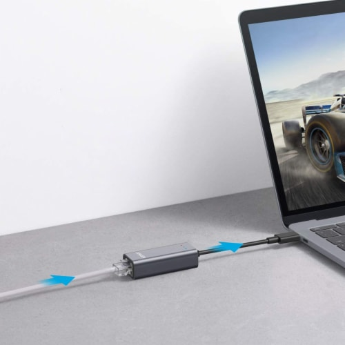 Anker USB-C to Ethernet Adapter Perspective: right