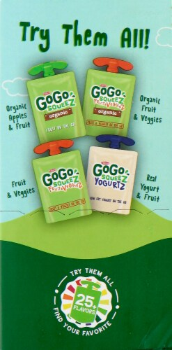 GoGo SqueeZ Apple Apple & Gimme Five Variety Pack Perspective: right