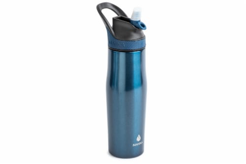 Manna Rezi Thermal Beverage Drinkware - Sapphire Sparkle Perspective: right