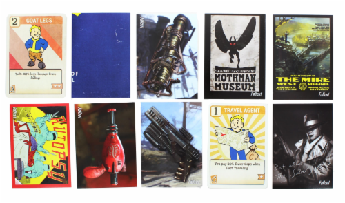 Fallout Trading Cards Series 2 | Sealed Hobby Box | Contains 24 Unopened Packs Perspective: right