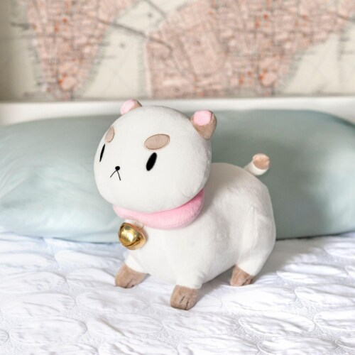 Talking PuppyCat Plush | Mighty Fine Official Bee & PuppyCat Doll | 10 Inches Perspective: right