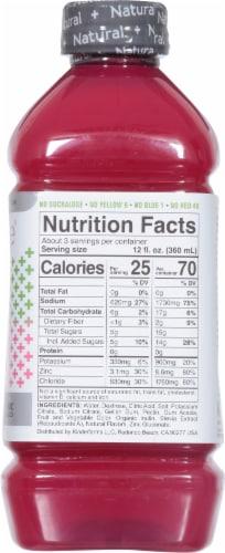 Kinderlyte Advanced Natural Raspberry Lemonade Electrolyte Solution Perspective: right