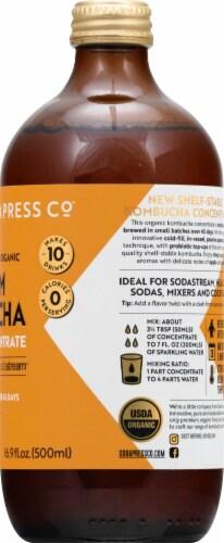 SodaStream Soda Press Organic Original Kombucha Concentrate Perspective: right