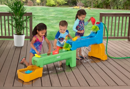 Simplay3 Rushing River Falls Water Play Table Perspective: right