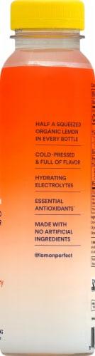 Lemon Perfect® Organic Peach Raspberry Cold-Pressed Lemon Water Perspective: right