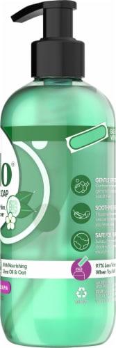 Gelo Cucumber Melon & Jasmine Flower Liquid Gel Hand Soap Perspective: right
