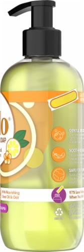 Gelo Lemon Basil & Geranium Liquid Gel Hand Soap Perspective: right