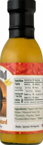 Portland Organic Gluten Free Mustard Perspective: right