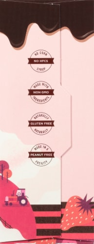 SMASHMALLOW SmashCrispy Dipped Strawberries & Cream Marshmallow Rice Treats Perspective: right