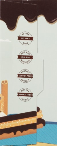 SMASHMALLOW SmashCrispy DIPPED Cinnamon Churro Rice Treat Perspective: right