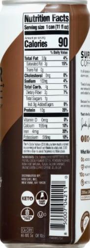 Super Coffee Coconut Mocha Enhanced Coffee Beverage Perspective: right
