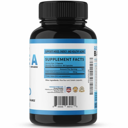 Havasu Extra Strength DHEA Supplement Perspective: right
