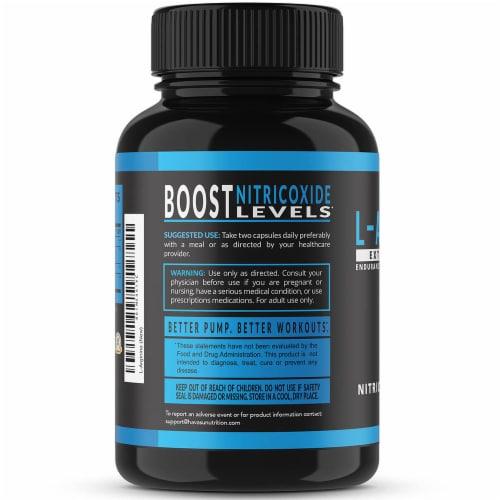 Havasu Extra Strength L-Arginine Supplement Perspective: right