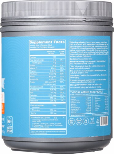 Vital Performance™ Yuzu Clementine Recover Powder Perspective: right