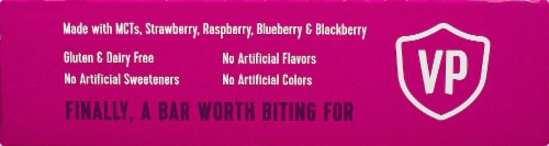 Vital Proteins Mixed Berry Collagen Bars Perspective: right