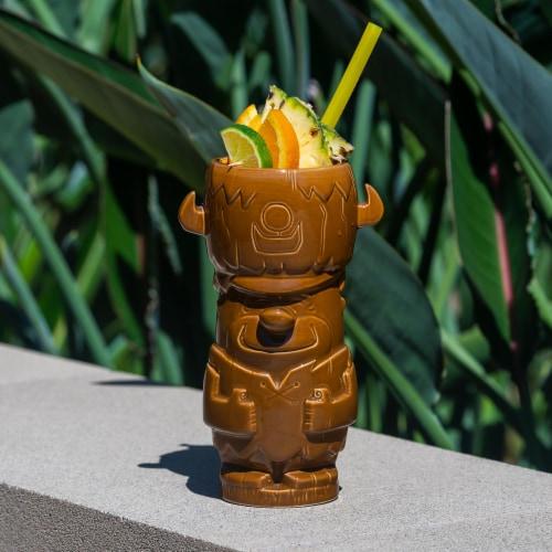 Geeki Tikis The Flintstones Mug Set | Fred & Barney Tiki Mugs | Holds 28 Ounces Perspective: right