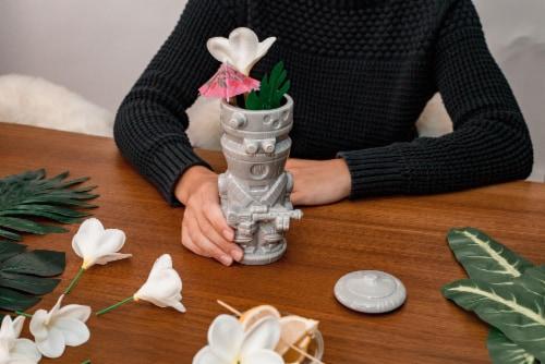 Geeki Tikis Star Wars The Mandalorian IG-11 Mug   Ceramic Tiki Cup   18 Ounces Perspective: right