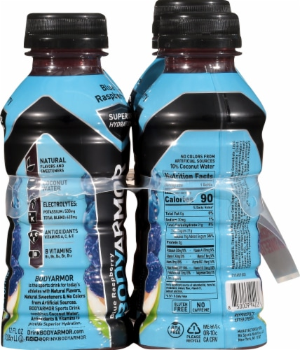 BODYARMOR Blue Raspberry Sports Drink Perspective: right