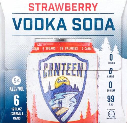 CANTEEN Spirits Strawberry Vodka Soda Perspective: right