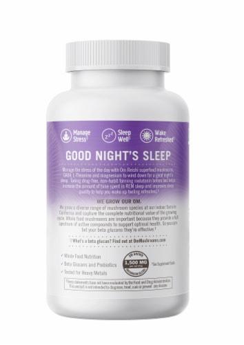 Om® Sleep Mushroom Superfood Daily Boost Vegetable Capsules Perspective: right