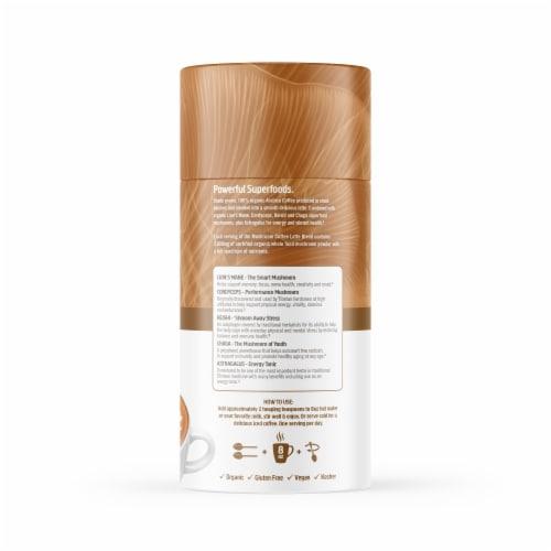 Om® Mushroom Organic Coffee Latte Blend Powder Perspective: right