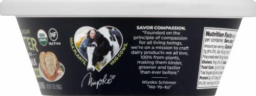 Miyoko's Creamery Organic Garlic Parm Oatmilk Butter Perspective: right