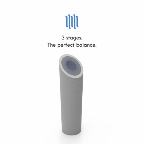"""5 Micron Wholehouse Sediment Water Filter  Replacement Cartridge 10"""" x 2.5""""  Value Pack (12) Perspective: right"""