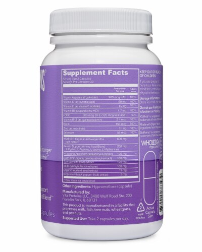 Vital Proteins Hair Boost Capsules 200mg Perspective: right