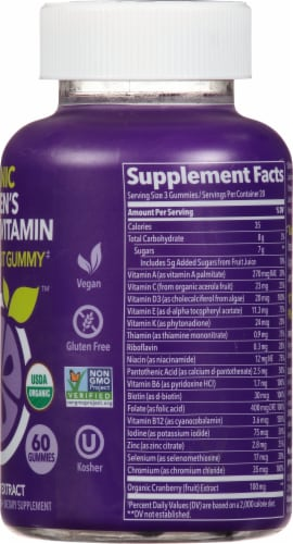 Fruily Women's Multivitamin Perspective: right