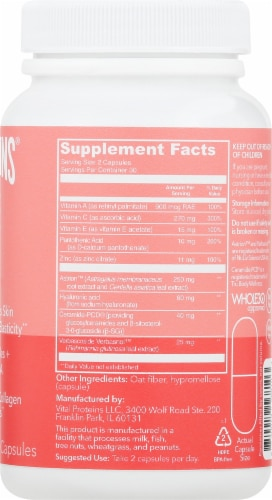 Vital Proteins Radiance Boost Capsules Perspective: right