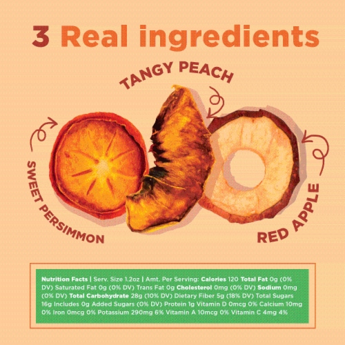 RIND Snacks Orchard Blend Dried Fruit Superfood - 3oz Bags, 6 Bags Total Perspective: right