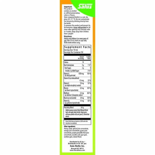 Floradix Epresat® Adult Liquid Herbal Supplement and Multivitamin Perspective: right