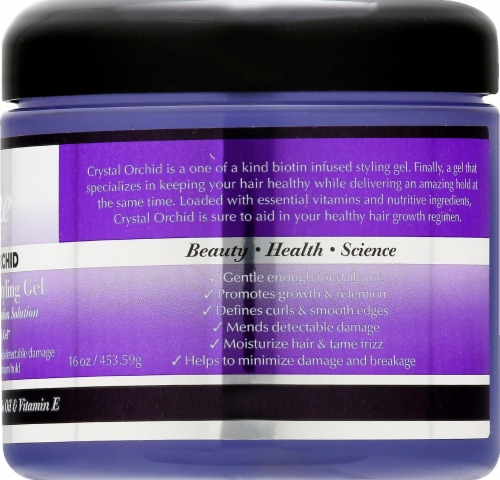 The Mane Choice Crystal Orchid Biotin Infused Styling Gel Perspective: right