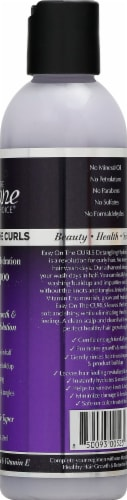 The Mane Choice Easy On The Curls Shampoo Perspective: right