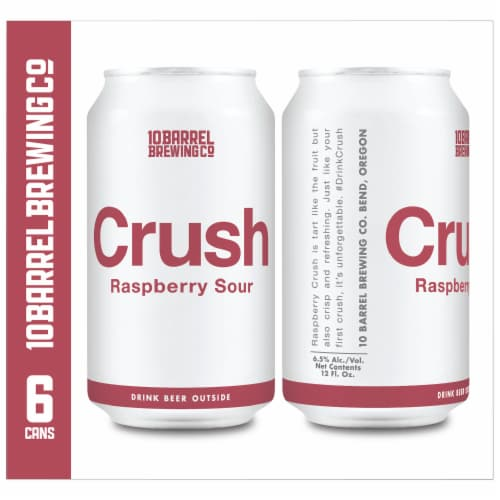10 Barrel Brewing Crush Raspberry Sour Perspective: right