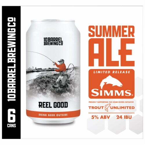 10 Barrel Brewing Reel Good Summer Ale Perspective: right