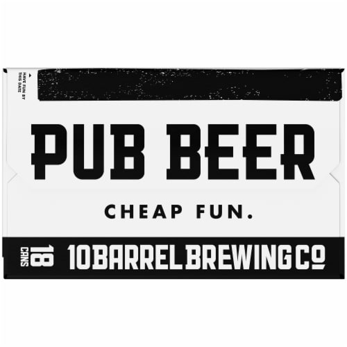 10 Barrel Brewing Pub Beer Lager Perspective: right