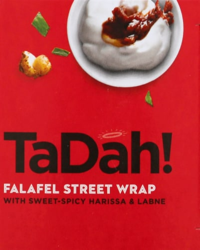 Tadah! Sweet and Spicy Harissa Wrap Perspective: right