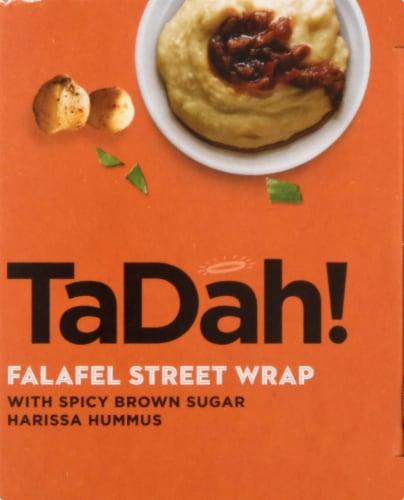 TaDah! Falafel Street Wrap with Harissa Hummus Perspective: right