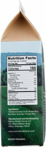 Ralston Family Farms Nature's Blend Rice Perspective: right