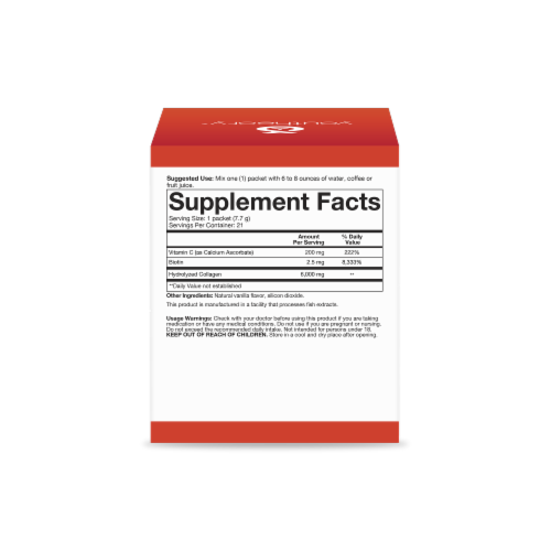 Youtheory® Vanilla Collagen Powder Perspective: right