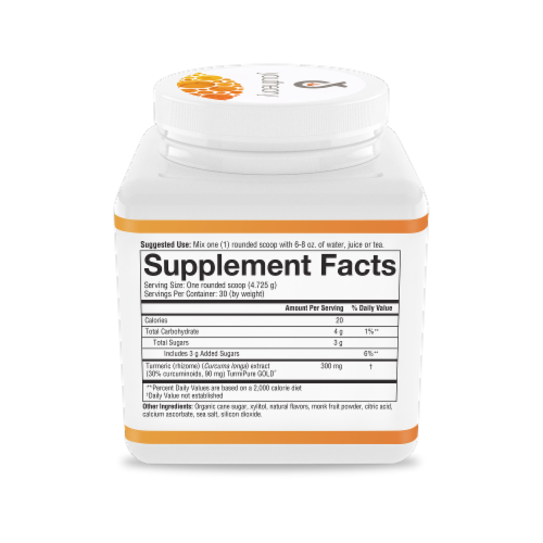 Youtheory® Tropical Turmeric Powder Perspective: right