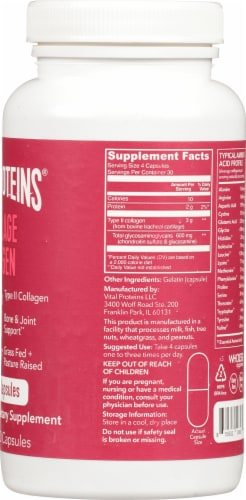 Vital Proteins Cartilage Collagen Capsules Perspective: right